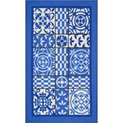 Well Woven Kings Court Blue Area Rug; 3'3'' x 4'7''