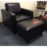 Hokku Designs Ocala Club Chair and Ottoman