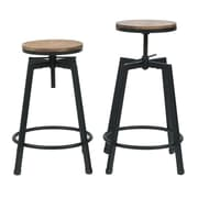 Commercial Seating Products Max Swivel Bar Stool (Set of 2)