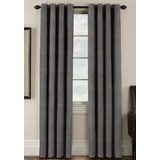 Thermatec Freemont Blackout Curtain Panels (Set of 2); Flint Gray