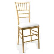 Commercial Seating Products Chiavari Chair Cushion; White