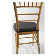 Commercial Seating Products Chiavari Chair Cushion; Black