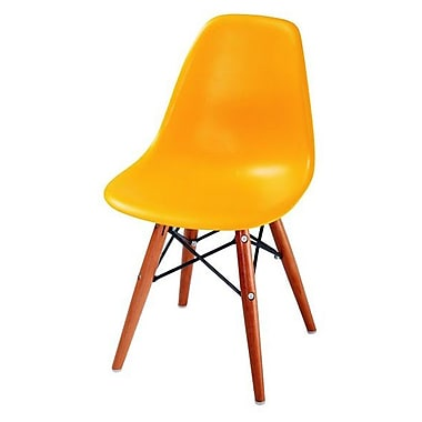Commercial seating products kids desk chair orange staples for Kids chair with name