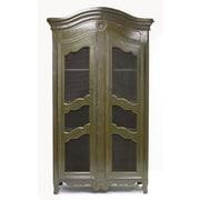 Zentique Inc. Christopher Office Storage Cabinet; Green
