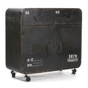 Zentique Inc. Anton Iron Office Storage Cabinet