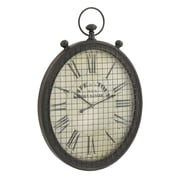 Cole & Grey Metal Wall Clock