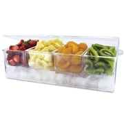Sweet Home Collection Frigidaire Chilled Acrylic Food Server