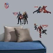 Room Mates Marvel Enterprises Captain America Civil War Peel and Stick Wall Decal