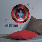 Room Mates Marvel Enterprises Captain America Shielf Civil War Peel and Stick Giant Wall Decal