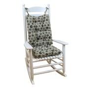 Klear Vu Seashell Rocking Chair Cushion