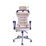 DSD Group Soho High-Back Task Chair with Arms; Gold