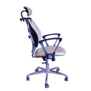 DSD Group Tribeca High-Back Task Chair with Arms; Gold