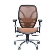 HomCom Deluxe Ergonomic High-Back Mesh Desk Chair; Tan
