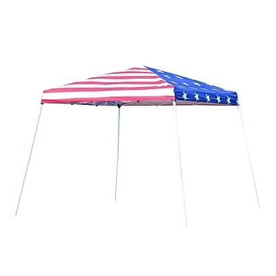 Outsunny Slant Leg Pop-Up Canopy Party Tent