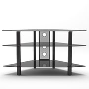 Gibson Living Ruby TV Stand; Black