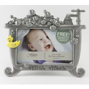 Fetco Home Decor Baby Lexi Splish Splash Duck Picture Frame
