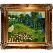Wildon Home   The Garden of Daubigny by Vincent Van Gogh Framed Original Painting