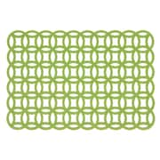 Linen Tablecloth Placemat (Set of 2); Green