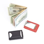 Royce Leather Tracker for Finding Your Wallet with Last Known Map Location Included with Money Clip Wallet(815-RED-5)