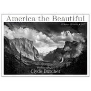 2017 Sellers Publishing Inc  10x14 America the Beautiful - The Photography of Clyde Butcher Monthly Wall Calendar (CA4321 )