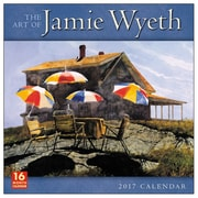 2017 Sellers Publishing Inc  12x12 Art of Jamie Wyeth Monthly Wall Calendar (CA4252)