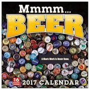 2017 Sellers Publishing Inc  12x12 Mmmmm...Beer Wall Monthly Calendar (CA4318)