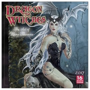 2017 Sellers Publishing Inc  12x12 Dragon Witches - The Art of Nene Thomas Monthly Wall Calendar (CA4271)
