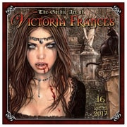 2017 Sellers Publishing Inc  12x12 Gothic Art of Victoria Frances Monthly Wall Calendar (CA4279)