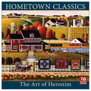 2017 Sellers Publishing Inc  12x12 Hometown Classics -The Art of Heronim Monthly Wall Calendar (CA4317)