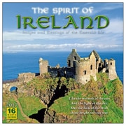 2017 Sellers Publishing Inc  12x12 Spirit of Ireland Wall Monthly Calendar (CA4302)