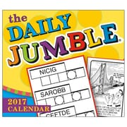 2017 Sellers Publishing Inc 6x5 Daily Jumble Boxed/Daily Calendar (CB4437)
