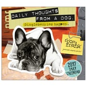 2017 Sellers Publishing Inc 6x5 From Frank: Daily Thoughts From a Dog Boxed/Daily Calendar (CB4434)