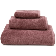 Linum Home Textiles Soft Twist 100pct Turkish Cotton 3 Piece Towel Set; Sugar Plum