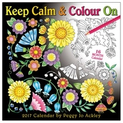 2017 Sellers Publishing Inc 6x9 Keep Calm & Colour On Weekly Engagement Calendar (CW4339)