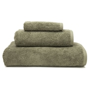 Linum Home Textiles Soft Twist 100pct Turkish Cotton 3 Piece Towel Set; Light Olive