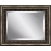 Ashton Wall D cor LLC Traditional Wood Framed Beveled Plate Glass Mirror; Large
