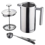 VonShef Stainless Steel French Press Cafetiere Coffee Maker; 34 oz.