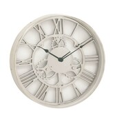 Cole & Grey 18'' Aluminum Wall Clock