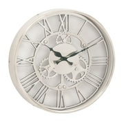 Cole & Grey 14'' Aluminum Wall Clock