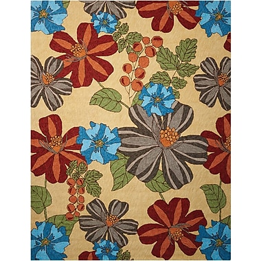 Nourison South Beach Sand Indoor/Outdoor Area Rug; 8' x 10'6''