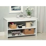Hokku Designs Waldon Open Shelf Console Table; White