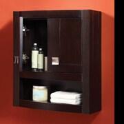 DecoLav Gavin 23'' W x 26'' H Wall Mounted Cabinet; Espresso