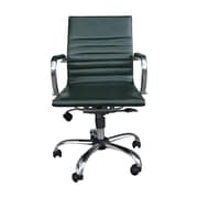 Winport Industries Mid-Back Swivel Task Chair; Dark Green