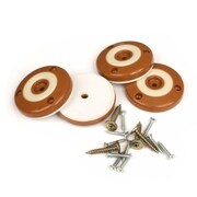 Slipstick Furniture Floor Protector Foot Gripper (Set of 4); Caramel