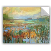 ArtWall Jane Schmidt 'Marsh in May' Painting Print Wall Mural; 36'' H x 48'' W x 0.1'' D