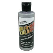 Auto-Air Colors 4 oz Airbrush Metallic Paint; Silver