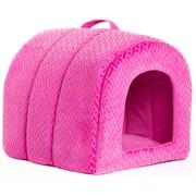 Best Friends By Sheri Igloo in Flex Cat Bed; Fuchsia by