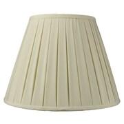 Home Concept Modern Classics 16'' Linen Empire Lamp Shade; Eggshell