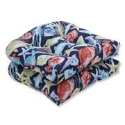 Pillow Perfect Keyisle Regata Outdoor Chair Seat Cushion (Set of 2)