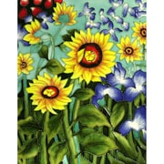 Tori Home 'Sunflowers and Irises' by Vincent Van Gogh Wall Art